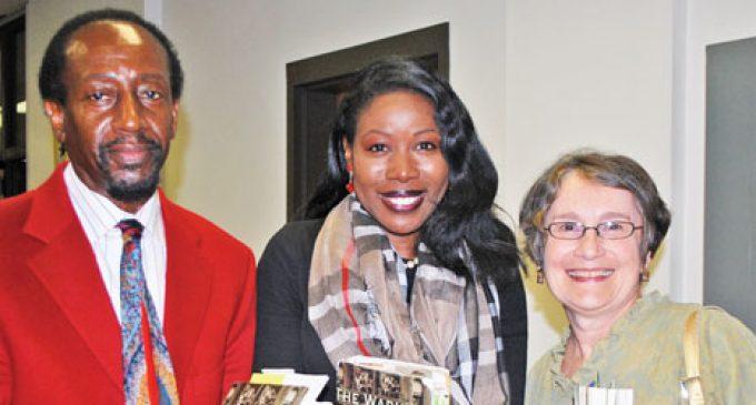 Black migration author draws large crowd