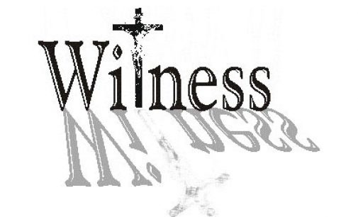 Witnessing for Jesus