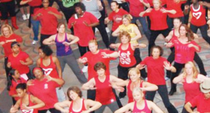 Mall Zumba sessions to  promote women's heart health