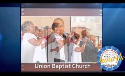 Union Baptist Church –  Church of the Year