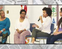 Women and girls cross generations to bond at event