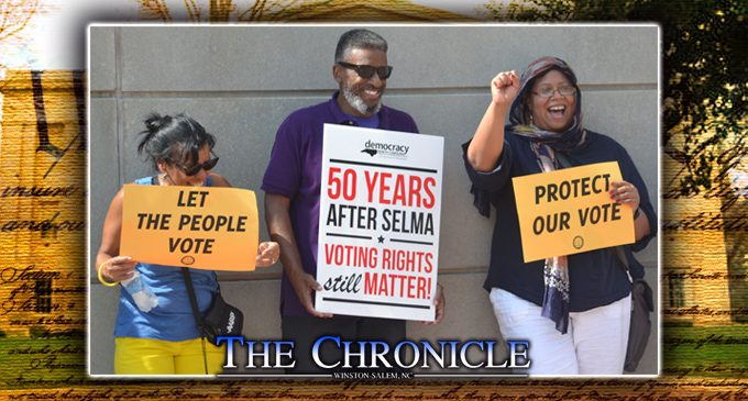 Vote to restore Voting Rights Act to its past