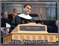 Improvise in life, speaker tells WF grads
