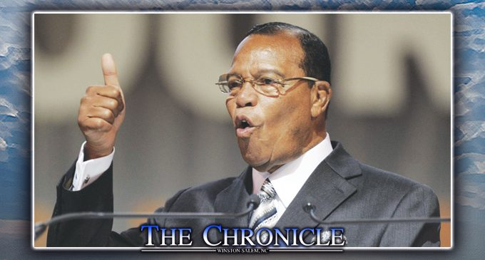 Farrakhan coming to Winston-Salem in May