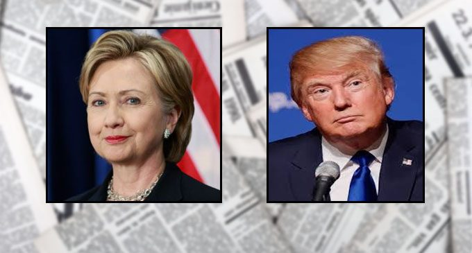 Clinton, Trump at odds over tackling guns and terrorism