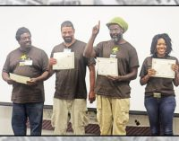 Urban Farm School holds ceremony for graduates