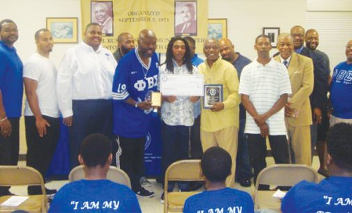 Walkertown High senior receives scholarship from Phi Beta Sigma Fraternity