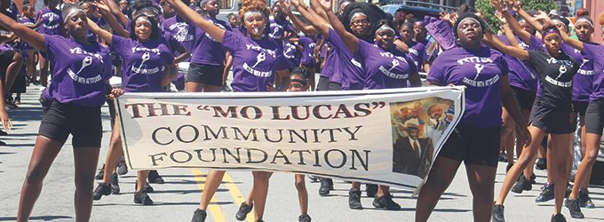 More than 1,000 celebrate Mo Lucas on Father's Day