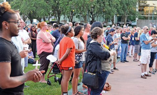 Local LGBT community and allies mourn Orlando victims