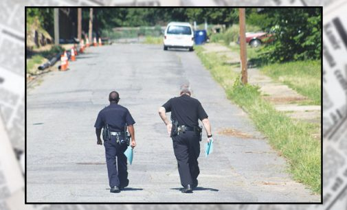 Police canvass neighborhoods, seeking help in fatal shootings