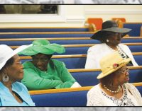 Celebration of hats shines at St. Mark