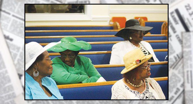 Celebration of hats shines at St. Mark
