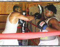 It's a family affair in the boxing ring