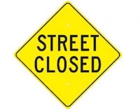 Street closings to cause traffic slow down, detours