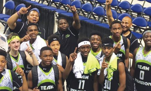 Local AAU basketball team  wins Div. II championship