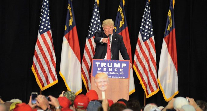 N.C. Republicans rally with Trump in W-S