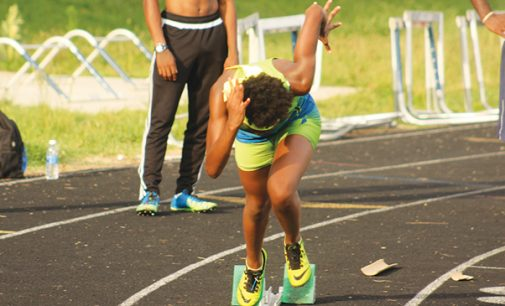 Youth shines on the track at regional qualifier