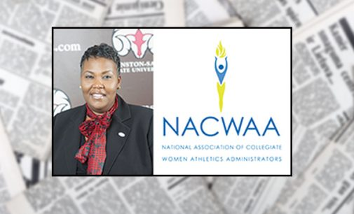 WSSU athletic director gains  administrators group honor
