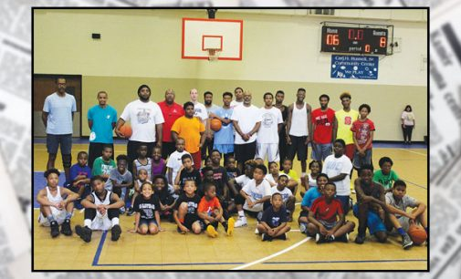 Summertime fun focuses on basketball skills