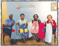 Deltas make pillowcase dresses for 'Little Dresses for Africa'