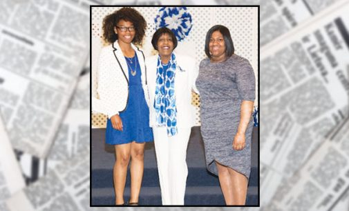 W-S Zeta branch gives scholarships at luncheon
