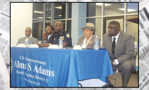 Adams holds forum on gun violence