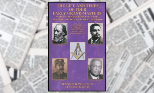 Piggott and Davis publish book on early Grand Masters of Prince Hall Masons