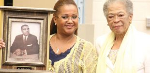 Carver dedicates auditorium to its first principal