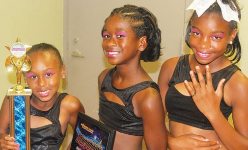 Young dancers take top spot on podium