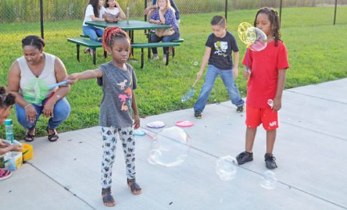 ESR movie night draws families