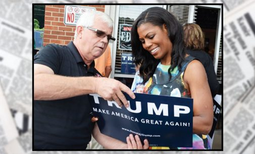 Omarosa, others support, pitch Trump locally