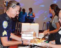 Local businesses show cops appreciation