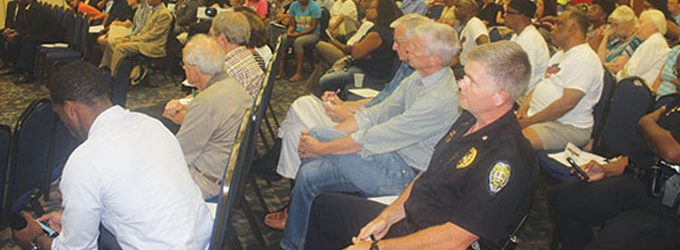 WSPD takes the stage during Part Two of Black & Blue Town Hall