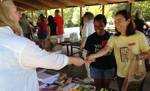 Democratic Women hold Teacher's Appreciation and school supplies event