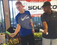 Tennis club gives free lessons to local adults