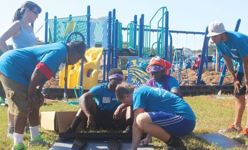 14th Street Playground comes to life