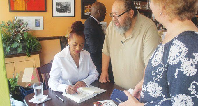 McMillan gives festival goers taste of new novel in W-S