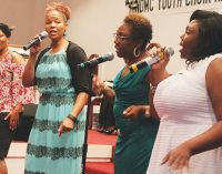 Church celebrates young people and youth choir