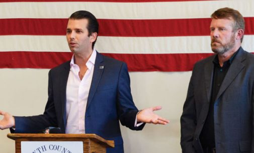 Donald Trump Jr. fires up local GOP