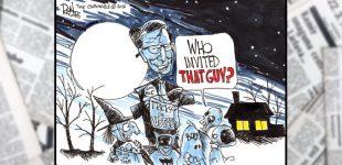 Political Cartoon: Trick and Treat