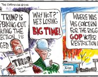 Political Cartoon: Rigged