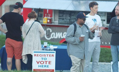 Arts Nouveau encourages young voters with block party
