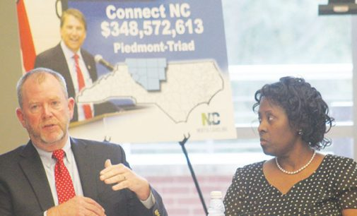 Business owners learn about Connect NC bond