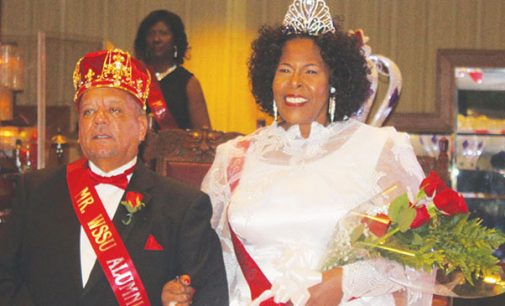 WSSU king and queen urge alumni to give