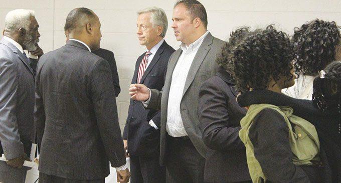 Church's meet and greet draws candidates