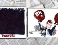 Editorial Cartoons: Election Victories