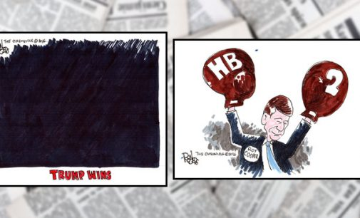 Editorial Cartoons: Election Victories