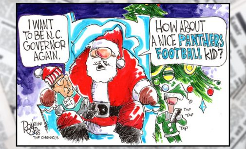 EDITORIAL CARTOON: A NICE FOOTBALL