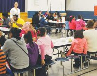 Local church and school combine to feed over 500