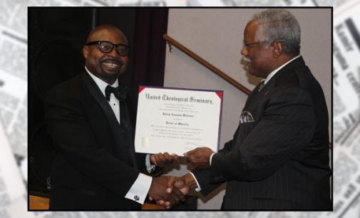 Pastor celebrates doctoral degree